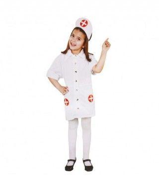 Disfraz Enfermera Bata para Niña Carnaval