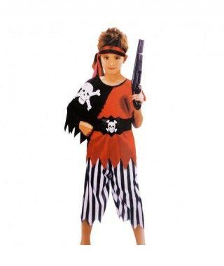 Disfraz Pirata Capa para Niño Carnaval