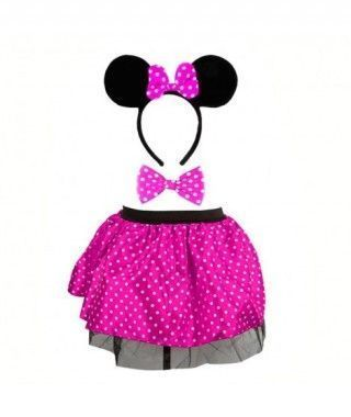 Conjunto Minnie Fucsia (3 pcs)