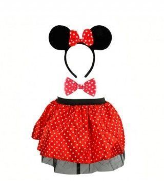 Conjunto Minnie Rojo (3 pcs)
