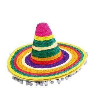 Sombrero Mejicano Borlas