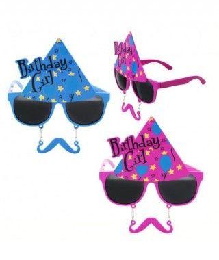 Gafas Cumpleaños Gorro y Bigote