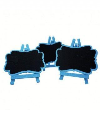 Pizarritas Decorativas Azules (3 uds)