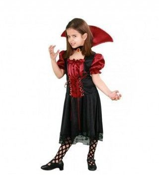 Disfraz Vampiresa misteriosa niña