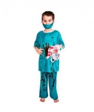 Disfraz Cirujano Zombi niño