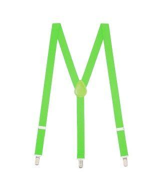Tirantes verde claro finos