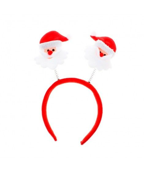 Diadema Navidad muelles Papá Noel