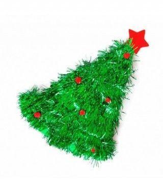 Gorro Árbol Navidad Espumillón