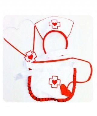 Conjunto Enfermera Love (3 pcs)