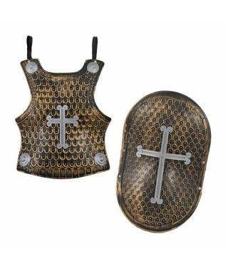 Armadura y Escudo Caballero Medieval