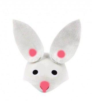 Gorro Conejo Blanco Casco
