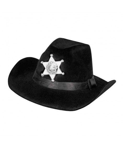 Sombrero Sheriff Oeste Adulto Fieltro f2da52d61bc