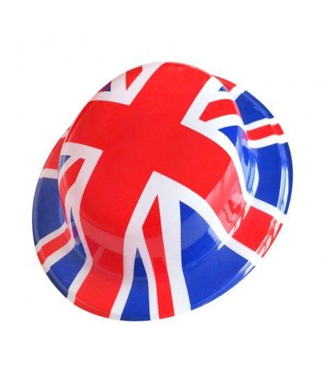 Bombín Estampado British Plástico