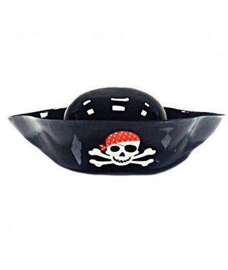 Sombrero Pirata Plástico