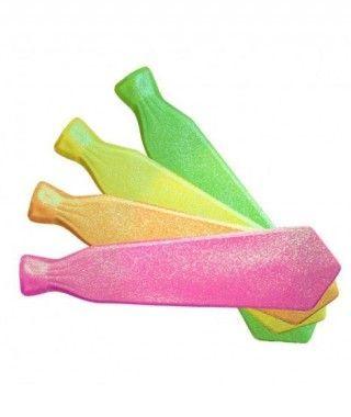 Corbata Purpurina de Plástico fiesta