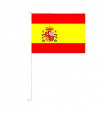Banderín con mango España