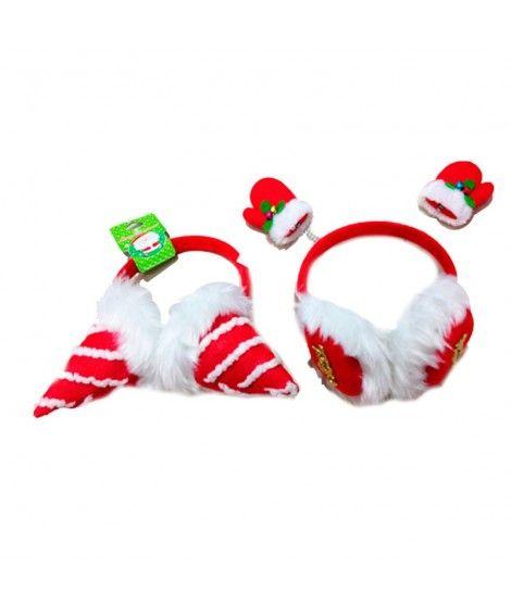 Orejeras de Navidad