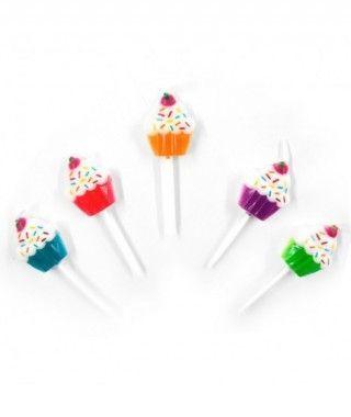 Velas Cumpleaños Cupcakes