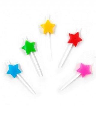 Velas Cumpleaños Estrellas