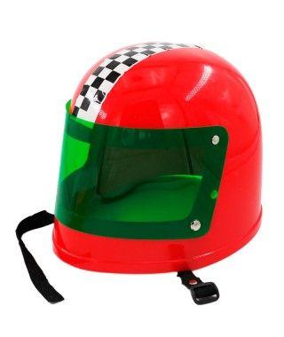 Casco Moto Carreras Disfraz