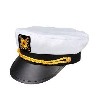 Gorra Capitán Barco Tela y Cuerda