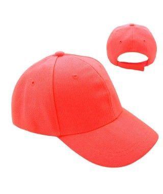 Gorra Roja Lisa (+ tallas)