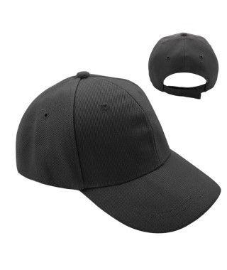 Gorra Negra Lisa (+ tallas)