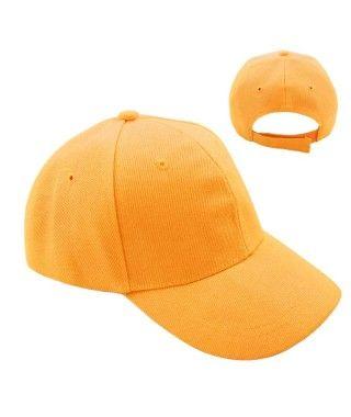 Gorra Naranja Lisa (+ tallas)