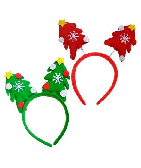 Diadema Navidad Árbol fieltro