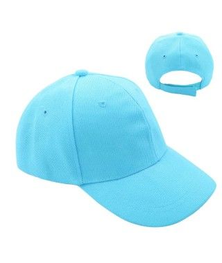 Gorra Azul Claro Lisa (+ tallas)