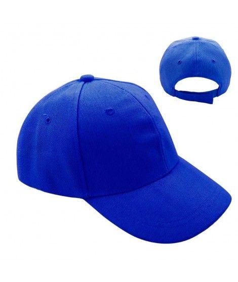 Gorra Azul Marino Lisa (+ tallas)