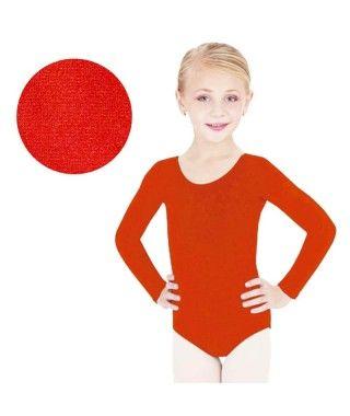 Maillot Rojo Punto Brillo Infantil