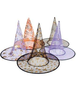 Sombrero de Bruja Tul