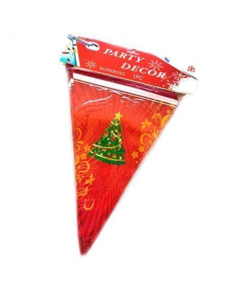 Banderines Guirnalda Árbol de Navidad Decoración Navidad