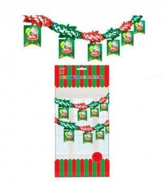Guirnalda Feliz Navidad Decoración