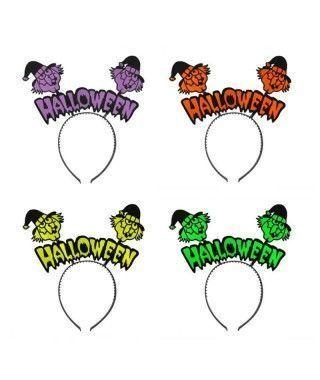 Diadema Halloween Antenas...