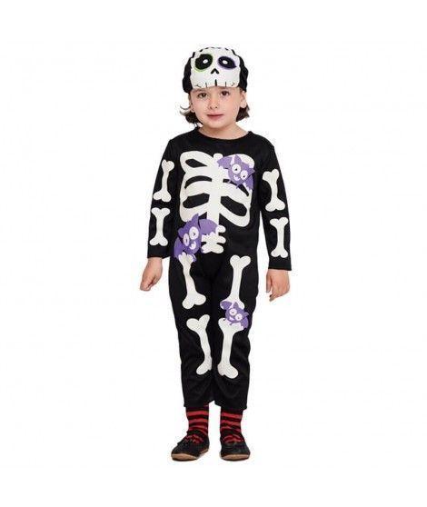 Disfraz Esqueleto Bats para Bebé