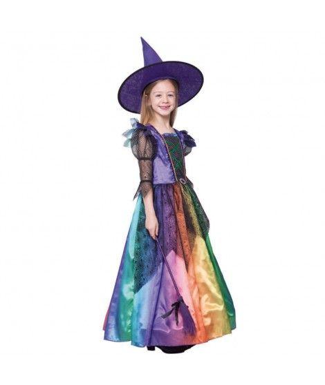 Disfraz Bruja Colorines Para Nina - Disfraz-de-bruja-para-bebe