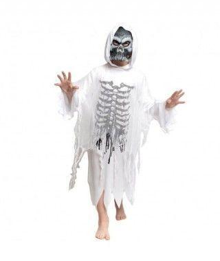 Disfraz Spíritu Skull para Niño