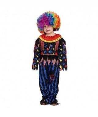 Disfraz Payaso Forzudo Halloween Infantil