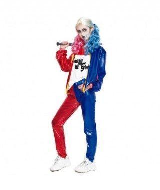 Disfraz Joker's Baby Largo Mujer