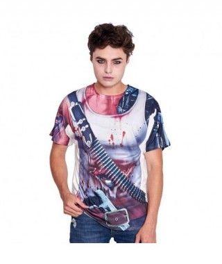 Camiseta Print Zombie Killer Unisex