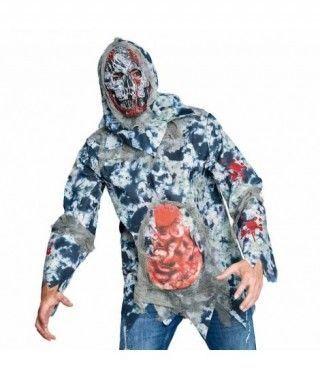 Disfraz Zombie Destripado para Hombre
