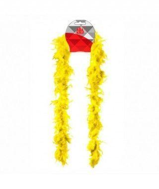Boa de Plumas Amarilla (40 g)