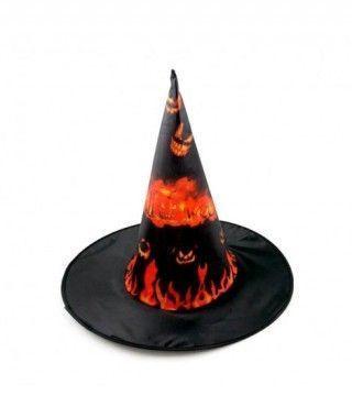 Sombrero Bruja Fuego Print