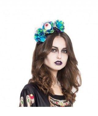 Diadema Halloween Rosas con Ojo