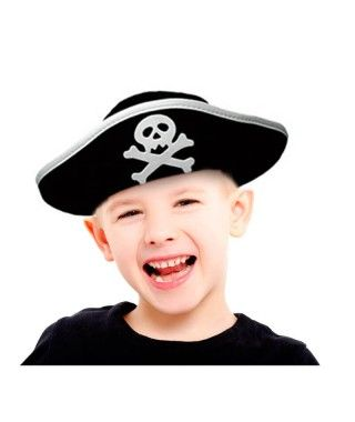 Sombrero de Pirata infantil Accesorio