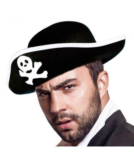 Sombrero de Pirata adulto Accesorio