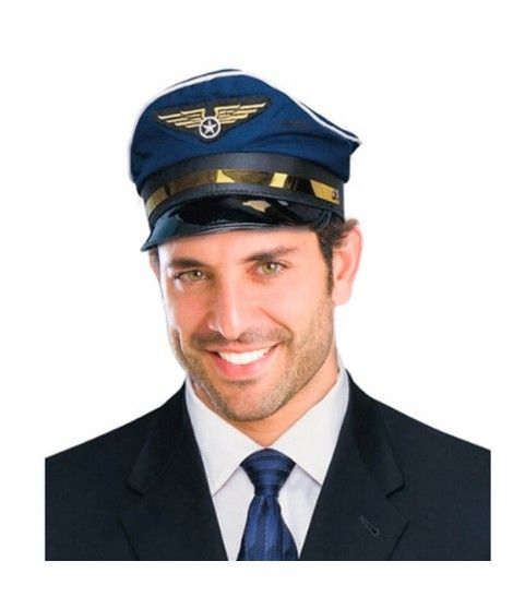 Gorra Piloto Avión Tela
