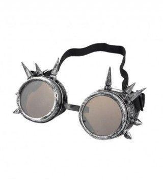 Gafas Steampunk Plateadas